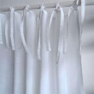 Rideaux En Lin Lavé : rideau en lin lav blanc finition nouettes decoclico maison rideaux pinterest rideaux en ~ Teatrodelosmanantiales.com Idées de Décoration