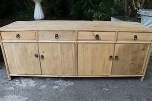 Meuble Bois Brut : meuble bois brut pas cher ~ Teatrodelosmanantiales.com Idées de Décoration