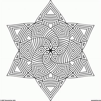 Coloring Pages Pattern Hard Printable