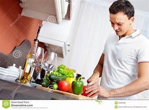 Man Cooking Stock Photo - Image: 22926360