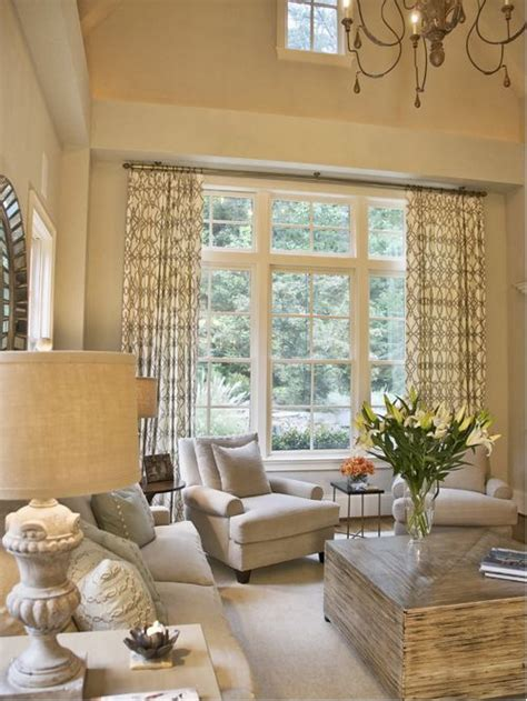 vaulted ceiling window treatments home design ideas