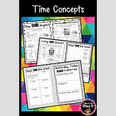 No Prep! Time Concepts  Elementary Math On Tpt  Teaching Time, Tomorrow Today, Early Learning