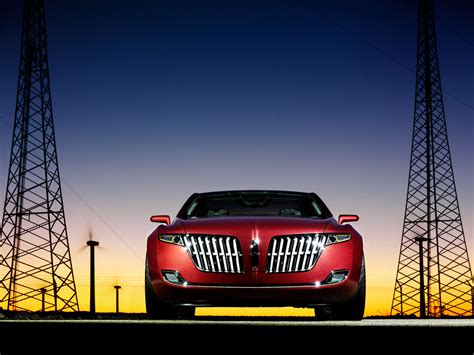 2007 Lincoln MKR Concept - Front - 1024x768 - Wallpaper