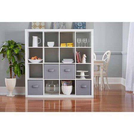 better homes storage cube better homes and gardens 16 cube storage organizer colors walmart