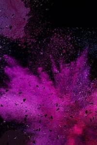 Splash, Powder, Cool, Purple, Gradient, Atmosphere