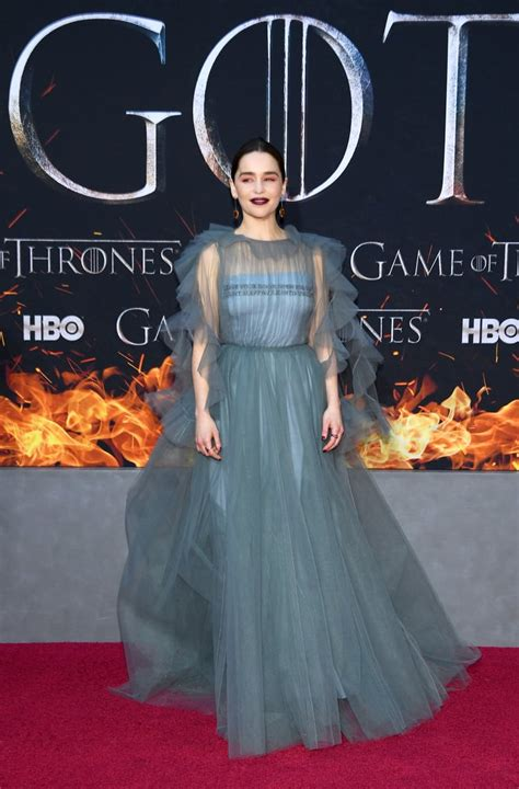 Emilia Clarke   Game of Thrones Cast Season 8 Red Carpet ...