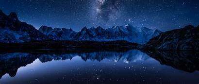 Wallpapers Earth Mountain 4k Reflection Cosmos Resolution