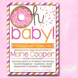 vintage airplane baby shower oh baby donut doughnut breakfast brunch baby by oneswellstudio