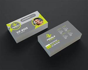 Fitness business cards business card tips for Fitness business card