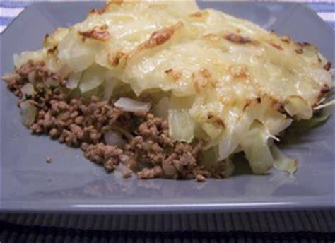 gratin de chou blanc 224 la viande plat du jour recettes