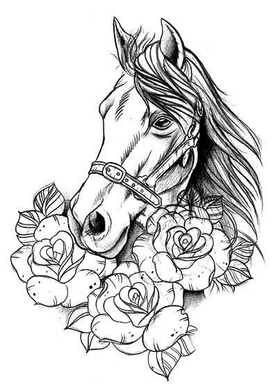 Kinda like this   Horse coloring pages, Horse coloring