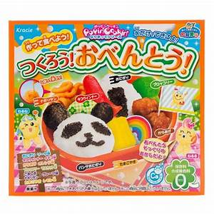 Japan Centre - Kracie Popin' Cookin' Bento Candy Kit ...