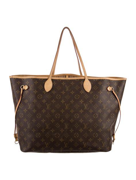 louis vuitton monogram neverfull gm handbags lou  realreal