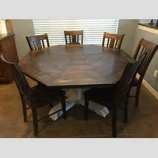 Ana White  Octagon Dining Room Table  Diy Projects