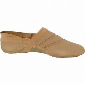 Dance Class® Child Leather and Spandex Jazz Shoe [TRMMD200 ...