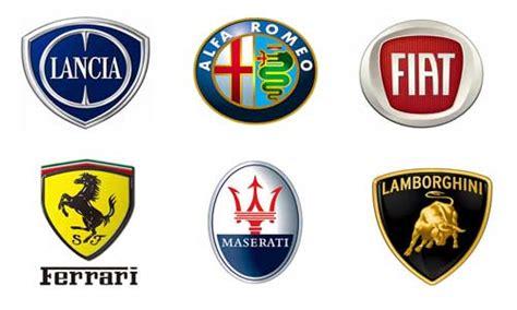 List And Logos Of Italian Cars