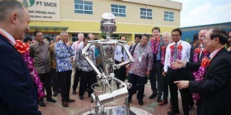 Menciptakan sesuatu yang tidak mungkin menjadi mungkin. PT SMOE Indonesia resmikan Pusat Pelatihan Pengelasan (welding center), di Kawasan Industri ...