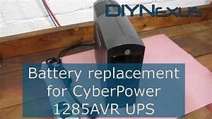 Cyberpower 1285avr Battery Wiring Diagram   41 Wiring