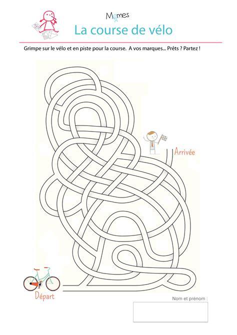 jeux de cuisin e labyrinthe de la course de vélo momes