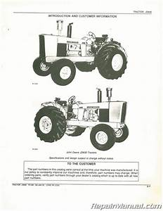 Used John Deere Jd600 Tractor Parts Manual