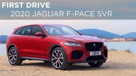 drive  jaguar  pace svr drivingca youtube