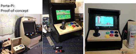 pittsburgh kickstarter the porta pi a diy mini arcade