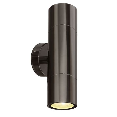 seaford up down led wall light brilliant lighting