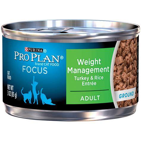 plan am駭agement cuisine pro plan focus weight management canned cat food petco