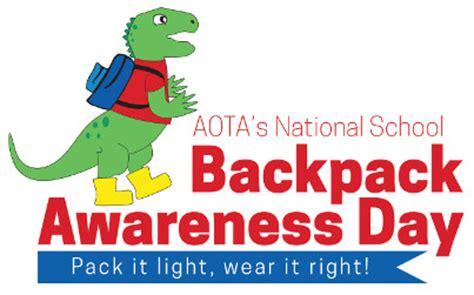 backpack shopping  tips  avoid  pain   neck aota