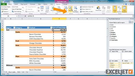 excel pivot table tutorial excel pivot table tutorial brew home