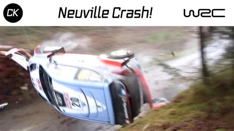 Thierry Neuville Rallye Beinahe Crash by Neuville Crash Wrc Wales Rally Gb 2015 Dyfnant Ss11