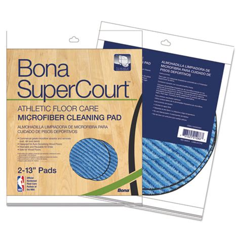 Bona Floor Pad by Bnaax0003501 Bona Supercourt Athletic Floorcare Microfiber