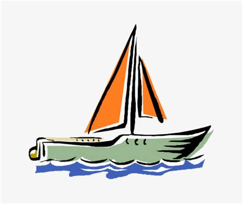 Dessin Bateau Yacht by Cartoon Sailboat Cartoon Boat Sailboat Yacht Png Image