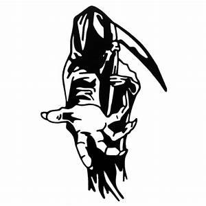 Grim Reaper Die Cut Vinyl Decal PV569