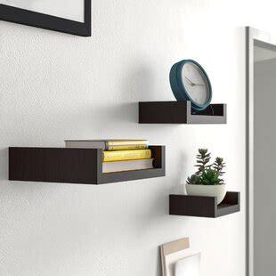 floating shelves youll love   wayfairca