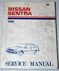 1986 Nissan Sentra Factory Dealer Shop Service Repair
