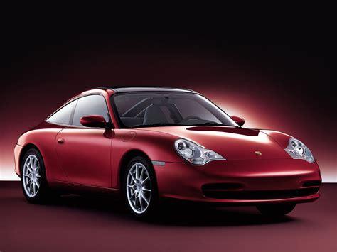 A Red Porsche Sports Car