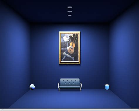 Add Sophistication to Room with Blue Wall Color