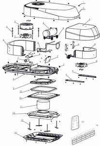 Caravansplus  Spare Parts Diagram - Aircommand Sparrow 4