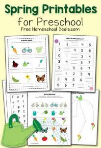 spring printables pack  preschool instant