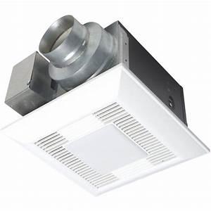 Panasonic whisperlite bathroom fan light 80 cfm for Panasonic whisper bathroom fan