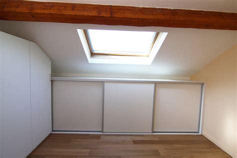 placard intégré chambre aménagements sur mesure