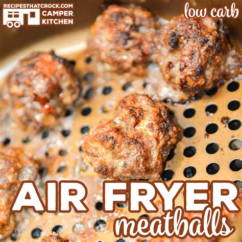 fryer air meatballs carb low recipes easy recipe homemade quick crock referral note links