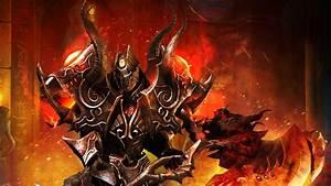 artwork, , fantasy, art, , warrior, , fire, , armor, , weapon, , helmet