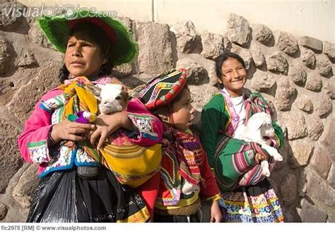 colorful traditional clothing of local cusco peru south america the pattern and