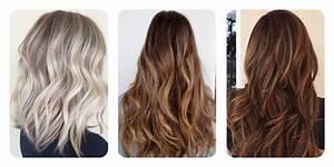 Ombre Hair Blond Polaire : balayage blond polaire sur brune ~ Nature-et-papiers.com Idées de Décoration
