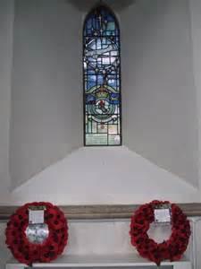 stained glass arnhem memorial window  vieve