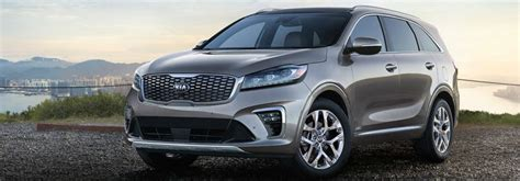 2019 Kia Sorento Trim Levels by 2019 Kia Sorento Vs 2019 Kia Sportage Comparison