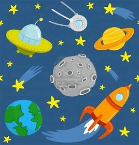 Outer Space Cartoon
