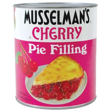 apple cherry pie filling musselman s cherry pie filling 10 can